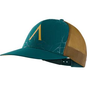 Arc'teryx Fractus Päähine , ruskea/sininen